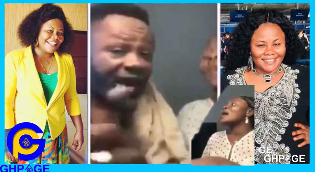Anita Afriyie fights with dad on her Facebook live