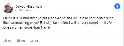Capture - I'll be very surprised if John Mahama loves women more than Akufo-Addo – Sekou Nkrumah