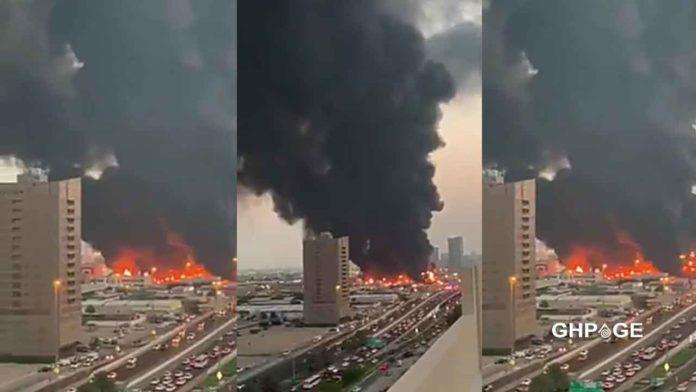 Fire-Outbreak-in-Dubai