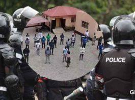 Ghana-Police-arrest-33-fraudsters-in-a-dawn-Police-raid-in-Accra