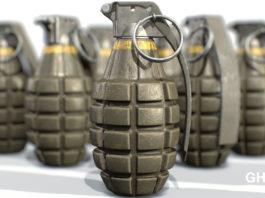 Grenade explosion in Accra