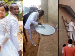 Groom leaves wife waiting in church to fix a client's DSTV on their wedding day