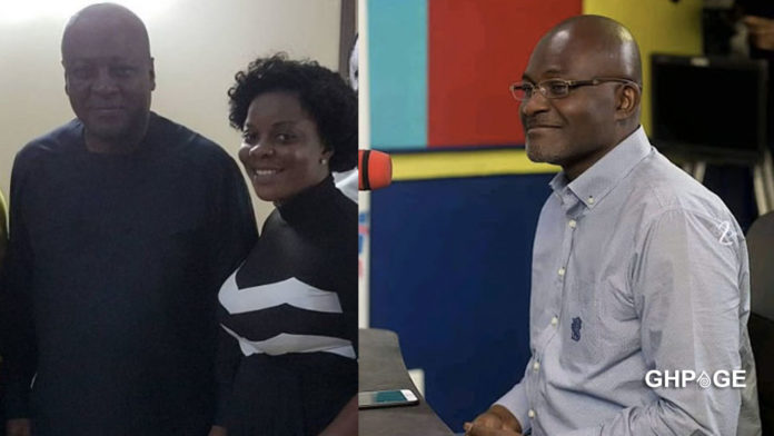 Gloria Kani has spoilt Mahama's dream of winning this year's elections - Kennedy Agyapong