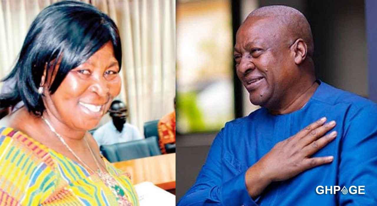 John Mahama said his wife is too old to bear kids he wants young girls-Akua Donkor