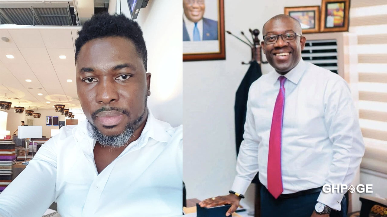 A-Plus blasts Kojo Oppong Nkrumah for talking about 'Papa no' in parliament