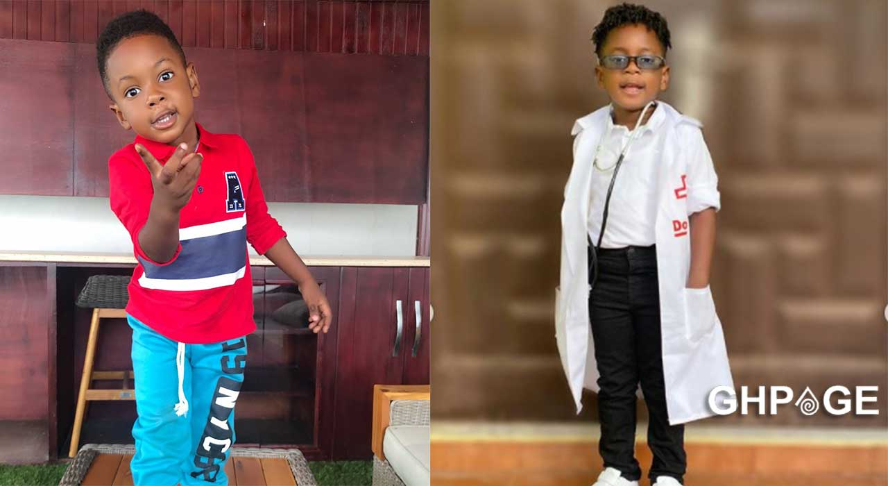 God guides and protects me even if I don't go to church- Shatta Wale's son Majesty
