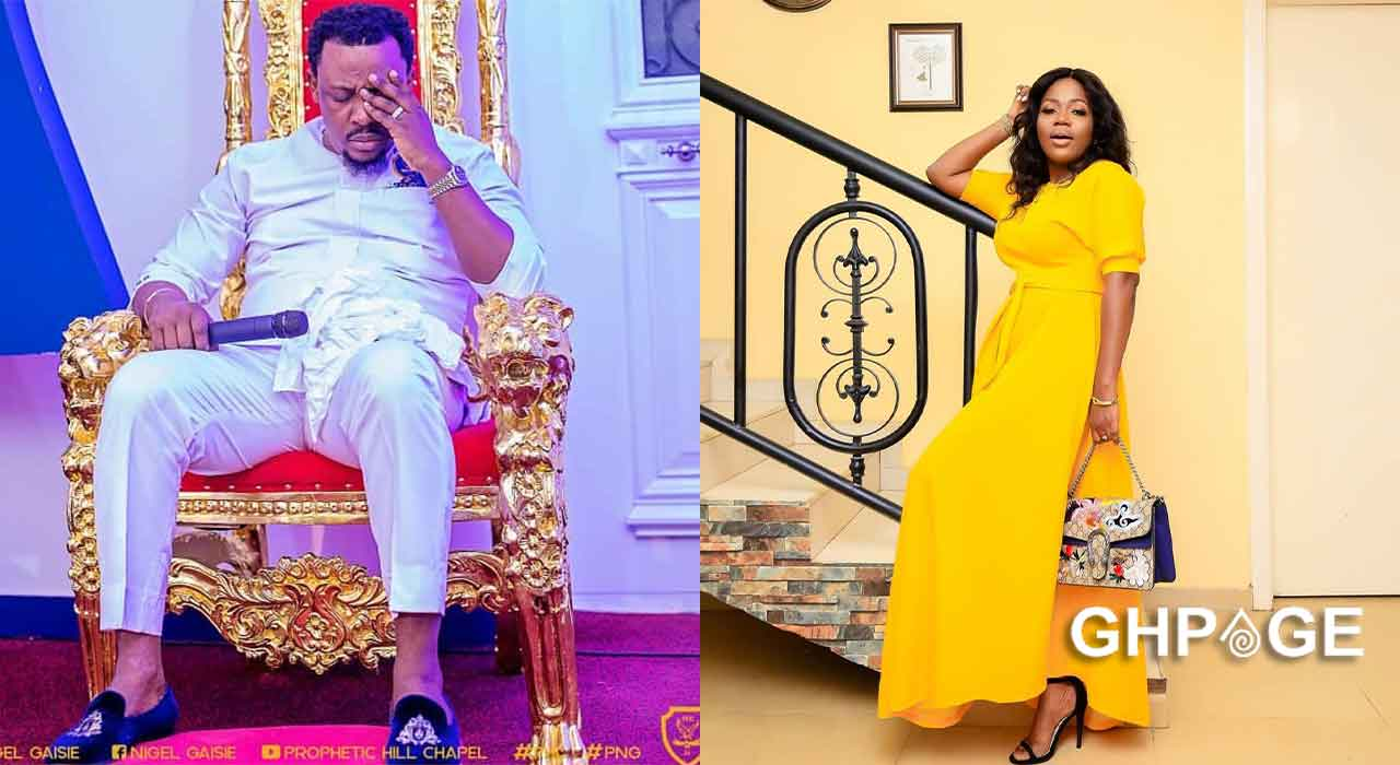 I went to Nigel Gaisie in a nightgown and met him in boxers – Mzbel narrates full story