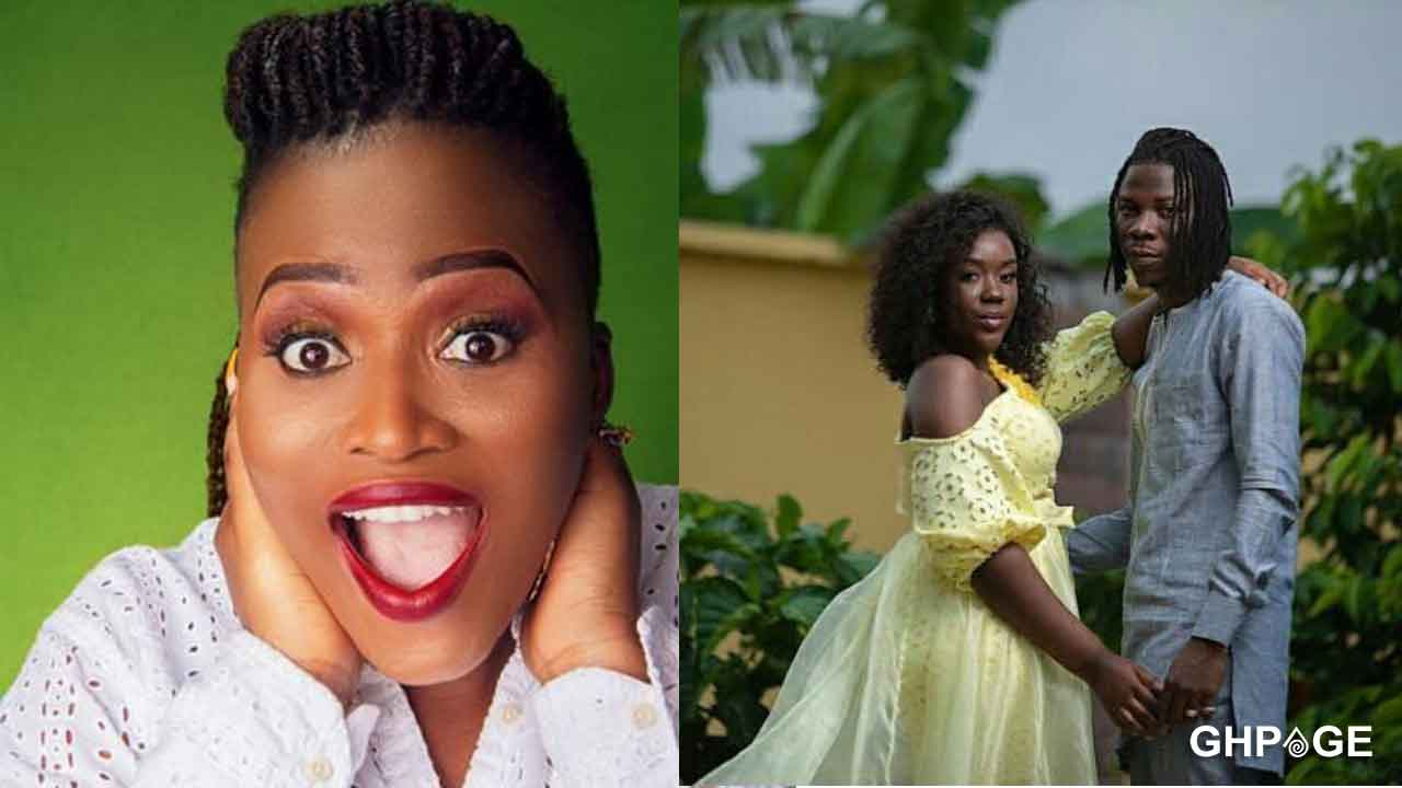 Slay Queen Presenter-Netizens blasts MzGee over Stonebwoy beating Louisa comments