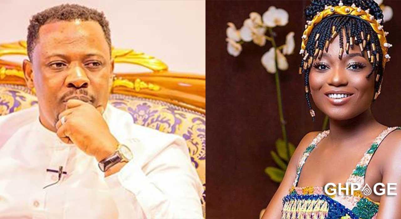 Efya prays to God after Nigel Gaisie's death prophecy