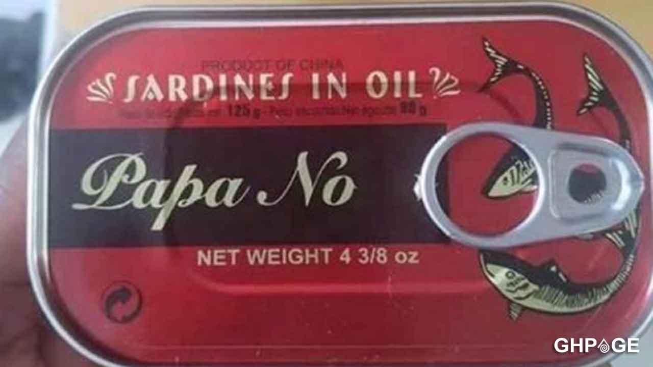 Papa No Sardine 1 - 'Papa No' sardine on the market now