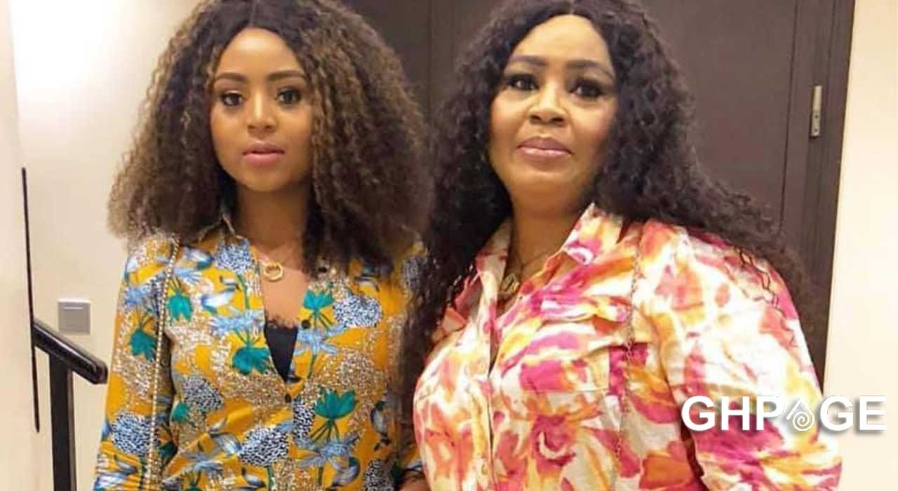 Video of Regina Daniels' mum showing off her impressive dance moves