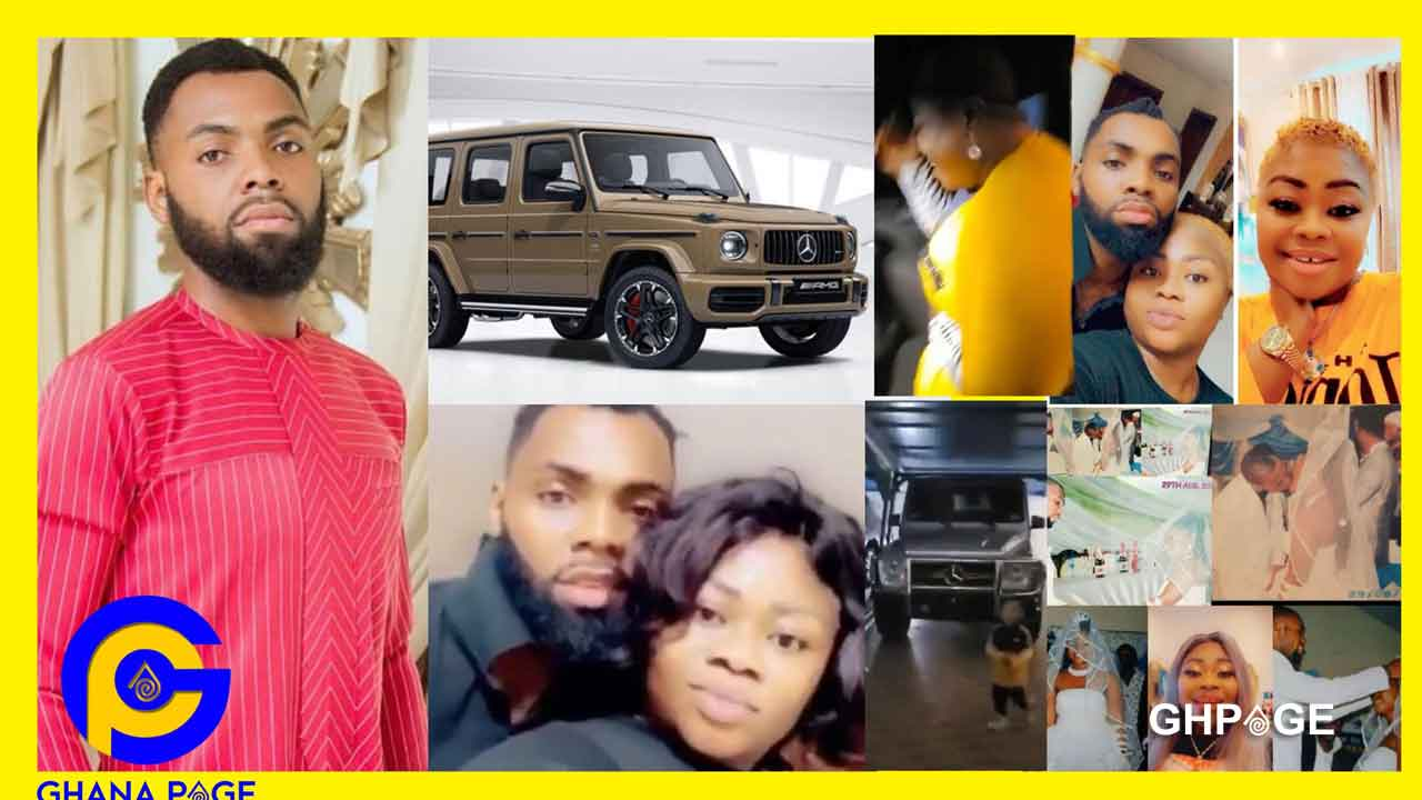 Rev Obofour buys G-Wagon for his wife on 10th marriage anniversary