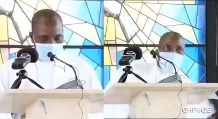 Reverend-father-collapses-and-dies-while-preaching-during-Sunday-mass-in-Cameroon