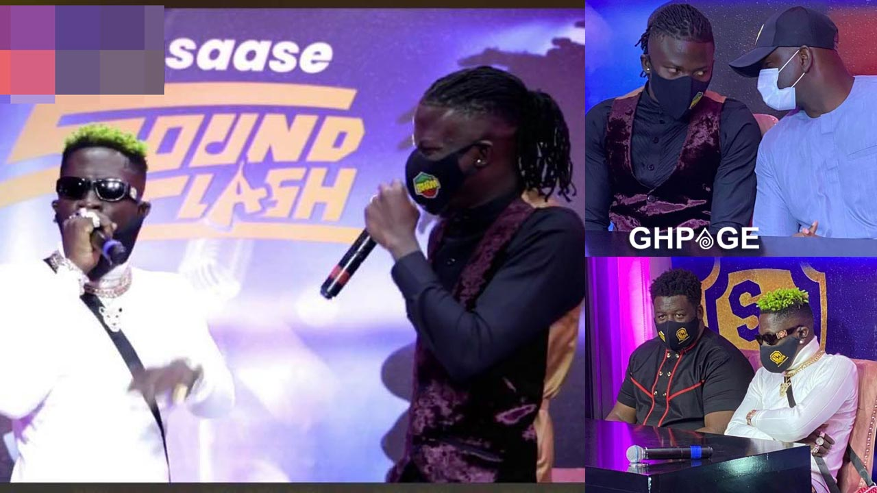 The moment Shatta Wale and Stonebwoy clashed on one stage for their battle