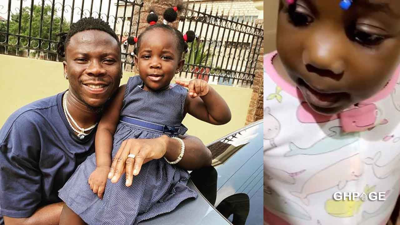 Video: Stonebwoy's daughter, Jidula sings word for word her father's Putuu song