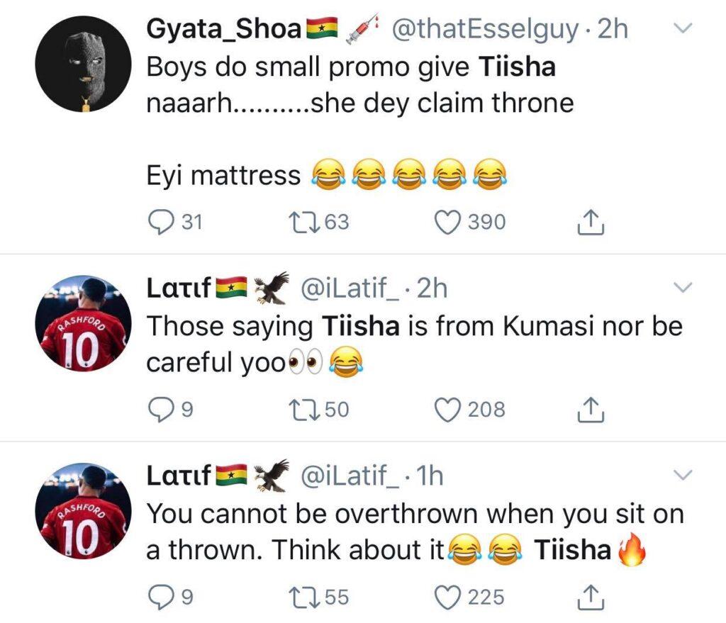 Tiisha Goofed