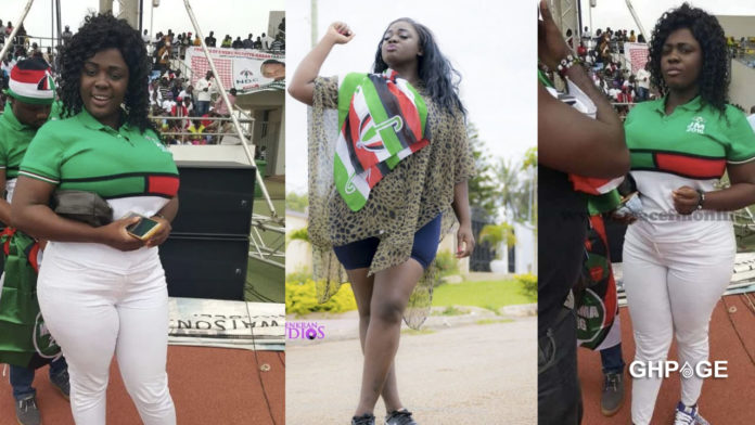 All my toils for the NDC are now in vain - Tracey Boakye