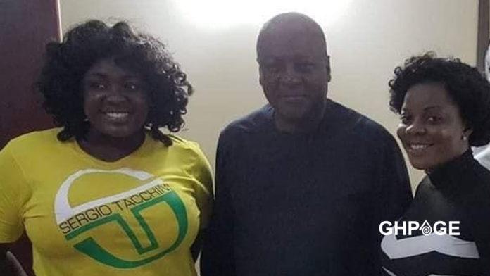 Tracey Boakye -John Mahama- Gloria Kani