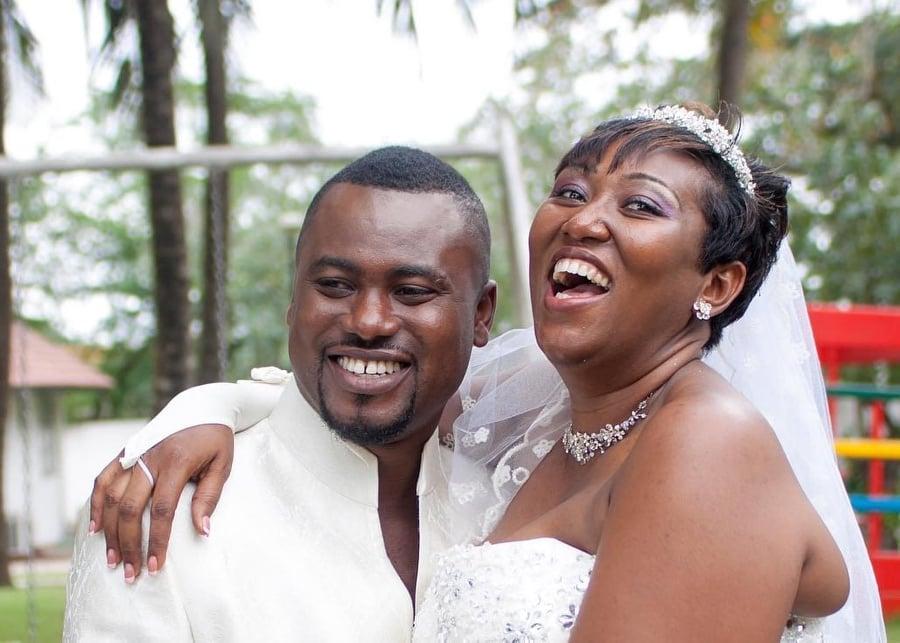 Abeiku and his wife