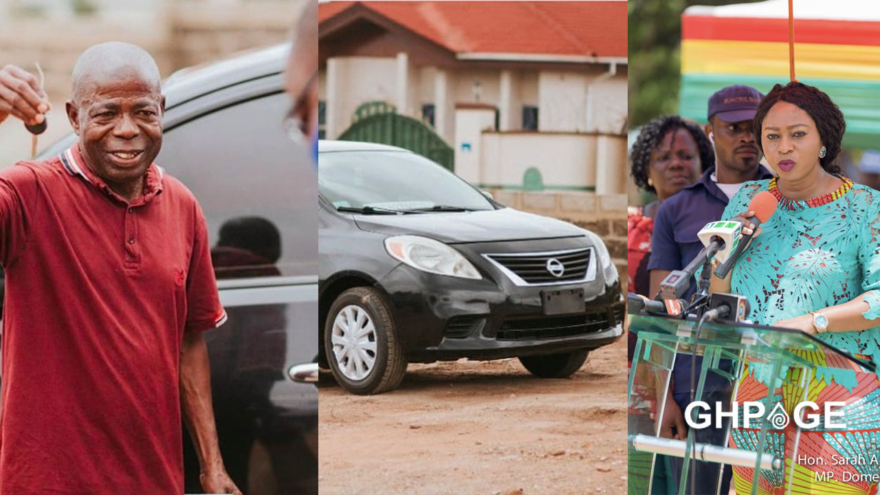 Adwoa Safo gifts die-hard NPP supporter a brand new car