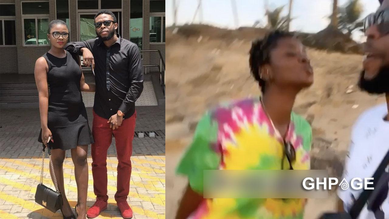 Video of Ahoufe Patri and Kalybos chilling at the beach hits social media