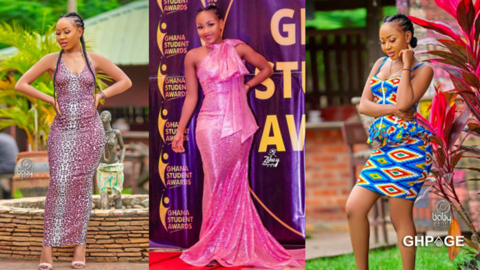 Akuapem Poloo shows of mum for the first time