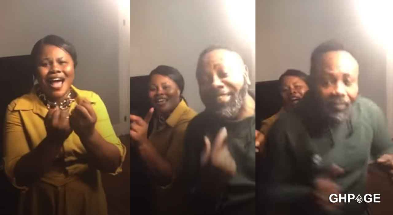 Anita Afriyie and her father reconcile on Facebook live after hot beef