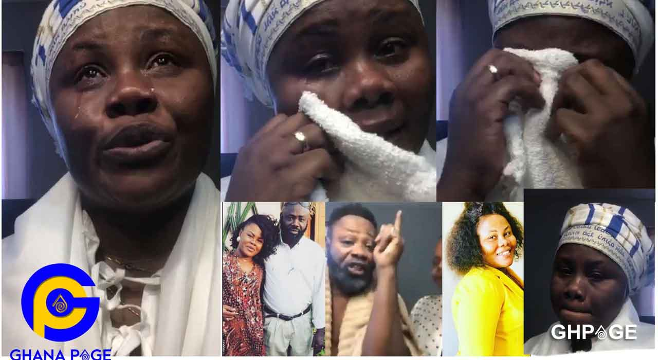 Anita Afriyie cries and apologizes after fight with father on Facebook live