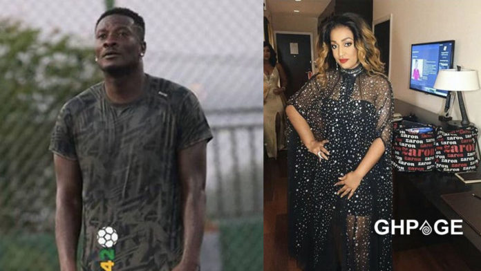Asamoah Gyan and Nina Atala step out for the first time after his divorce