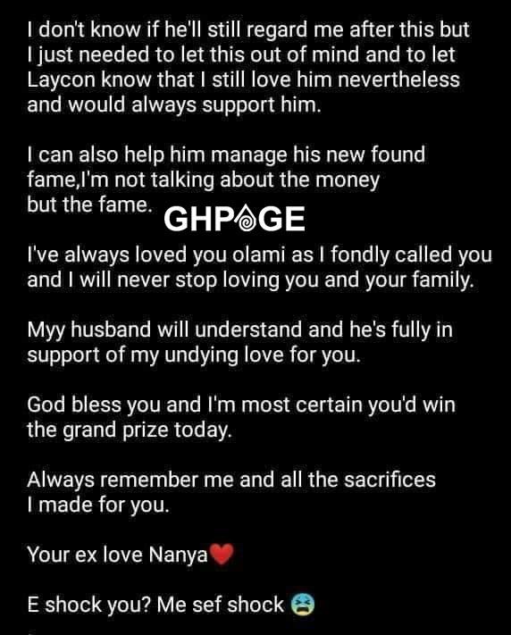 BBNaija 2020 winner Laycon's ex-girlfriend claims she still loves him