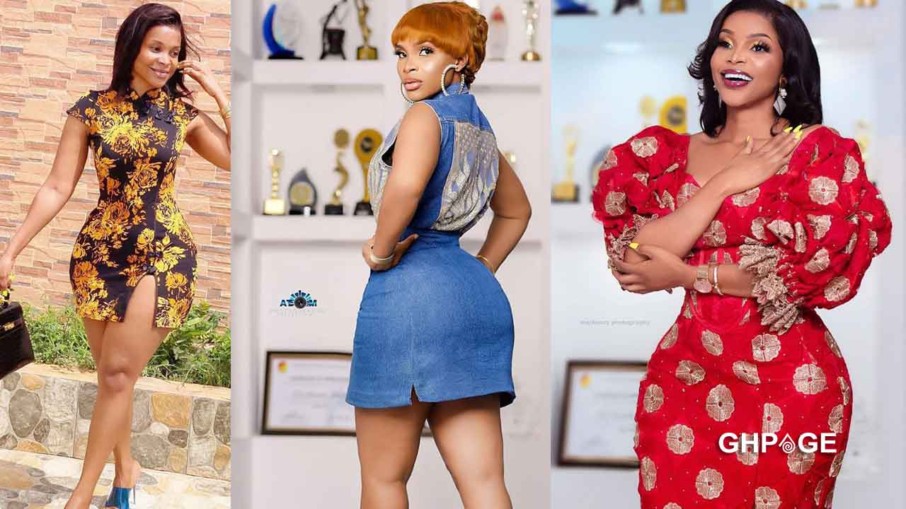 Benedicta Gafah drops wild photos to prove that she doesn't wear hip pad