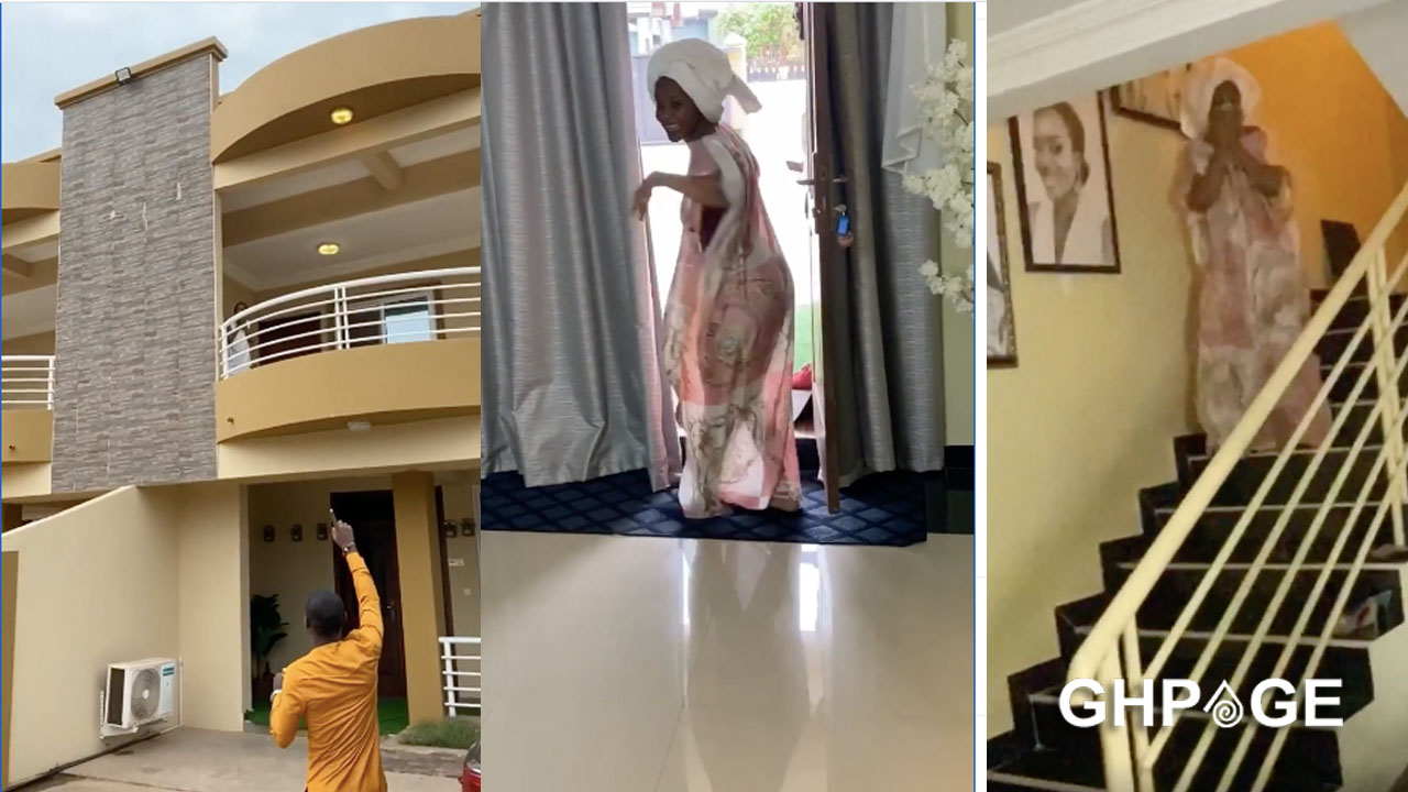 Video of Benedicta Gafah's house causes confusion