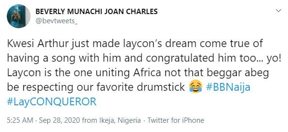 Kwesi Arthur Laycon