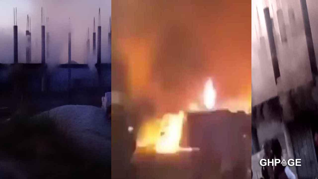Fire guts warehouse at Kentinkrono