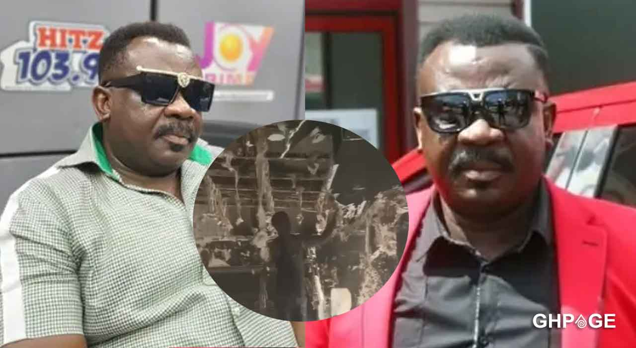 Fire guts Koo Fori's house in Accra