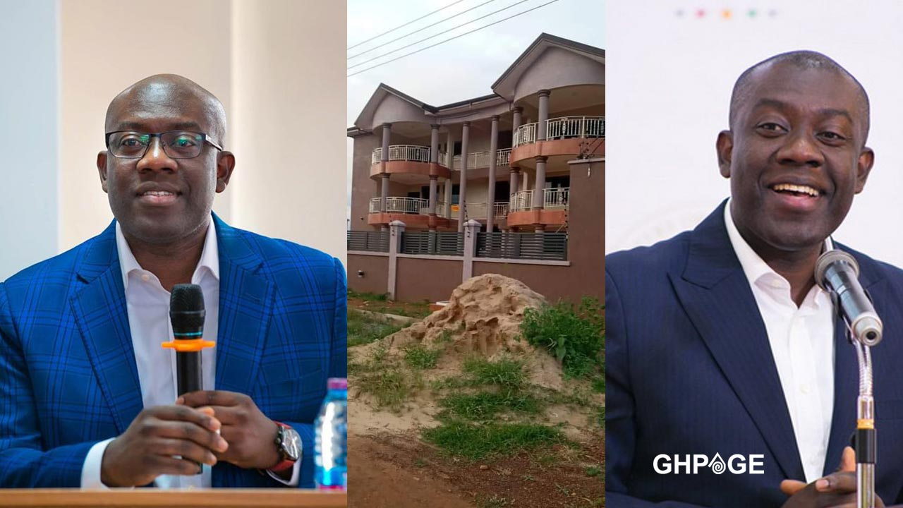 Photos of the alleged mansion of Kojo Oppong Nkrumah