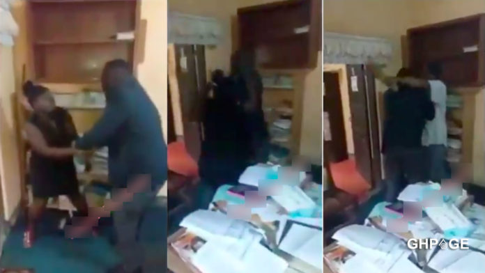 Video of a female lawyer being beaten in her office surfaces online