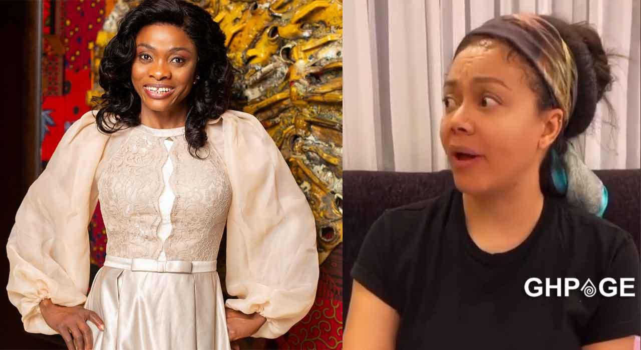 "Nadia Buari mimes perfectly to Diana Asamoah's ""Ceciria"" Marfo video"