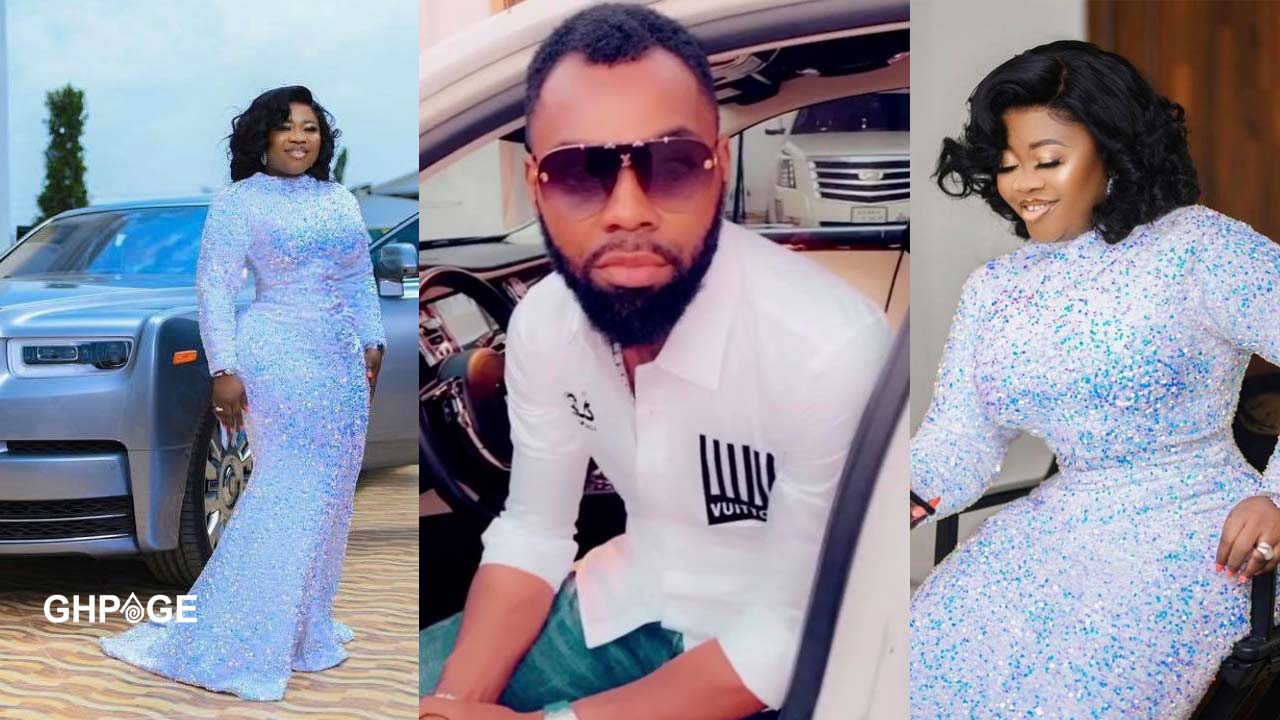 Obofour sends a sweet message to his wife as she celebrates her birthday