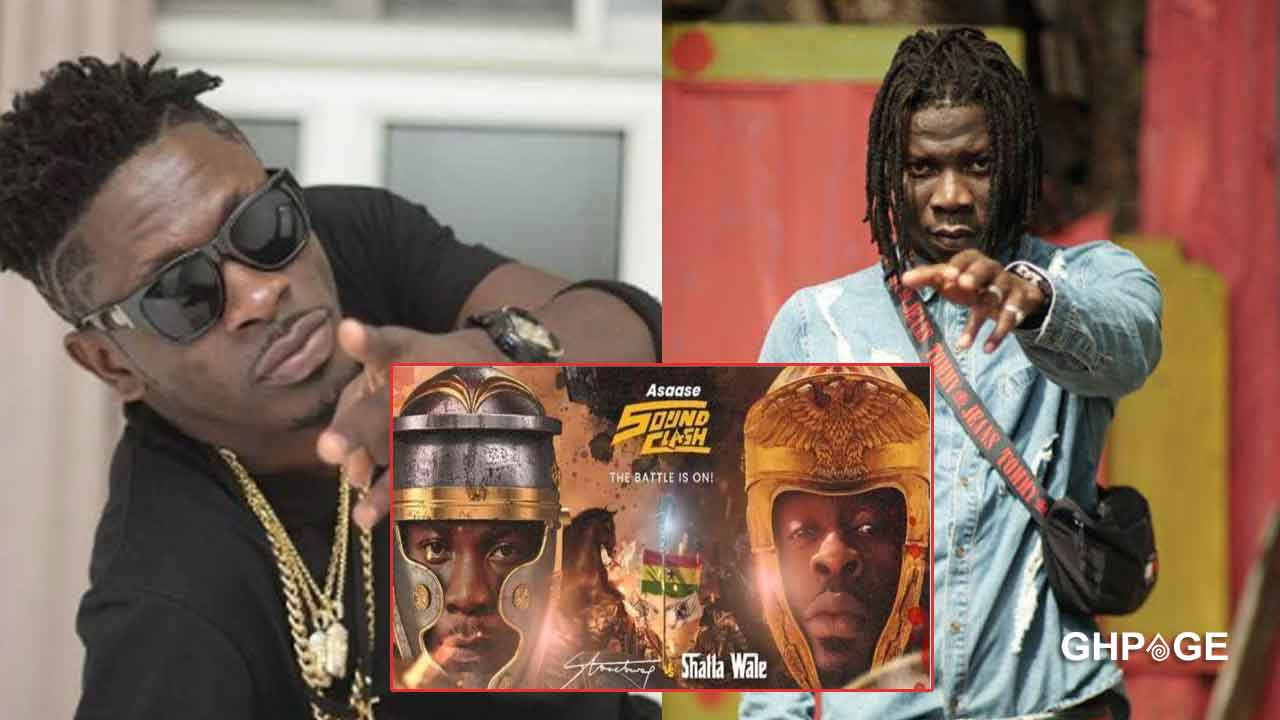 Shatta Wale officially wins over Stonebwoy in Asaase Radio Soundclash votes edition