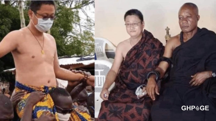Chinese man enstooled Nkosuohene rejects the title