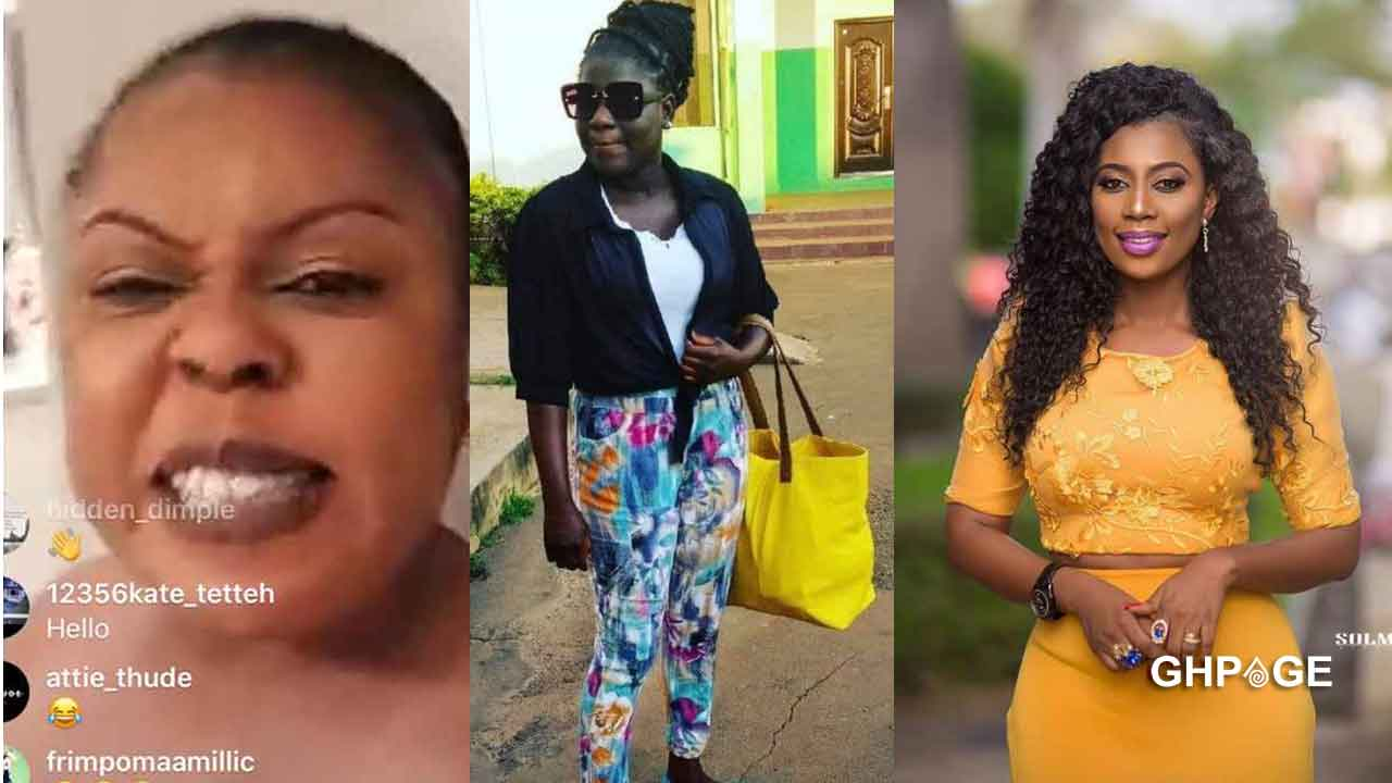 Afia Schwar also curses lady who called Selly Galley barren and horror