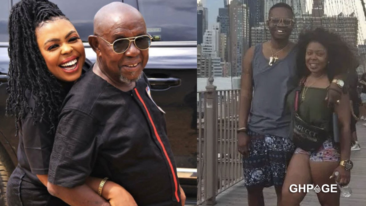Afia Schwarzenegger shows off dad after Nana Tornado revealed he was a poor man in Kumasi