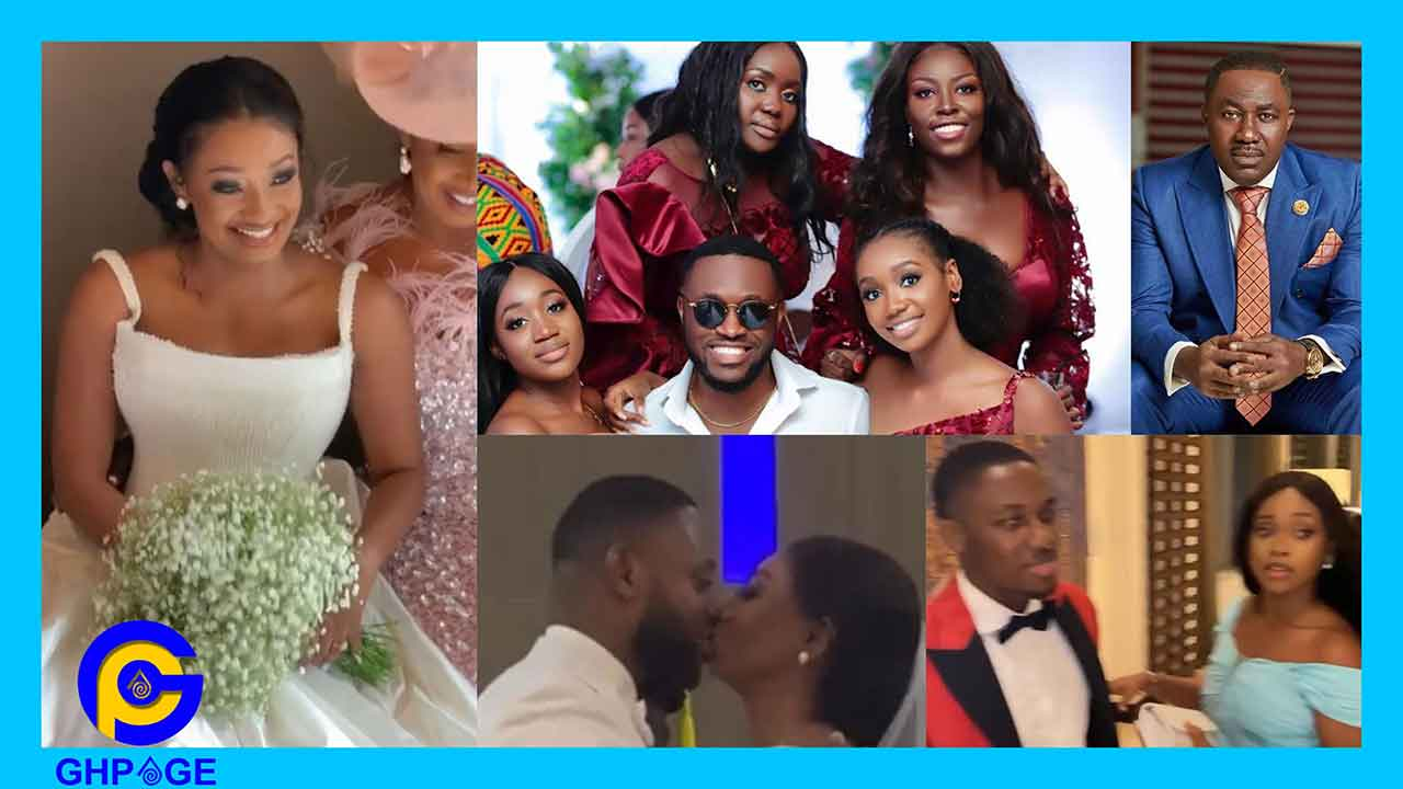 #Ciri2020:Despite sons & daughters steal the show at Cindy Sarpong & husband wedding reception