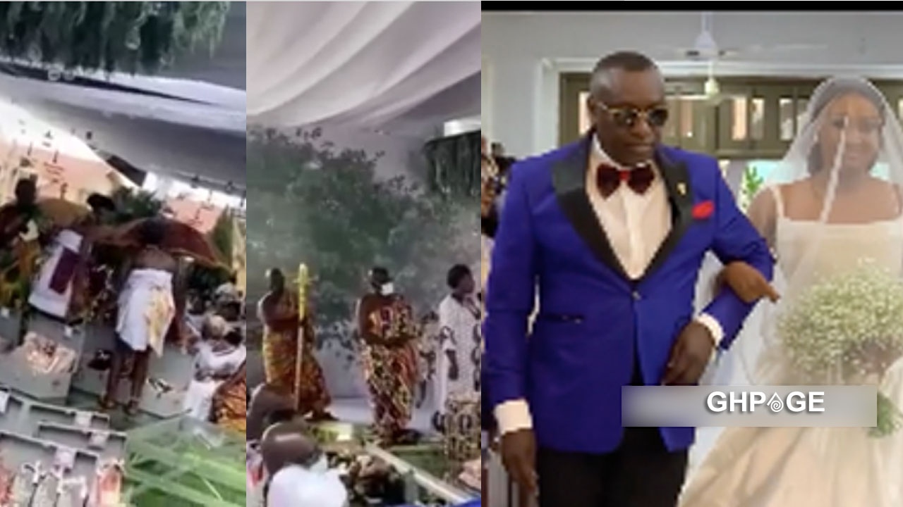 Ciri2020: See the dowry Richard Peprah presented to the family of Cindy Sarpong (VIDEO)