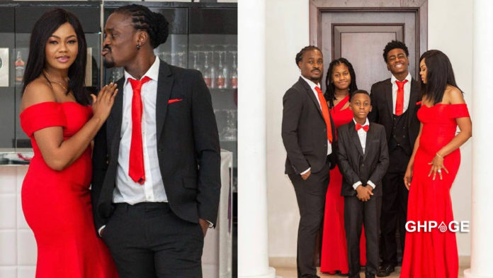Derek Boateng shares first-time photo of his family as he celebrates 18 years marriage anniversary