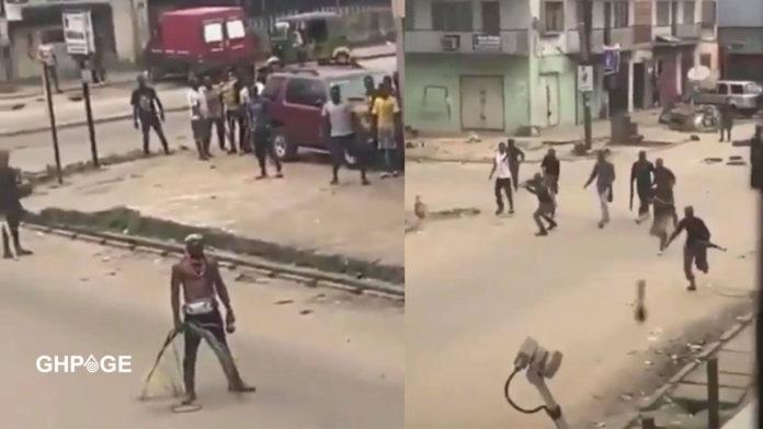 EndSAR Protestor in Nigeria