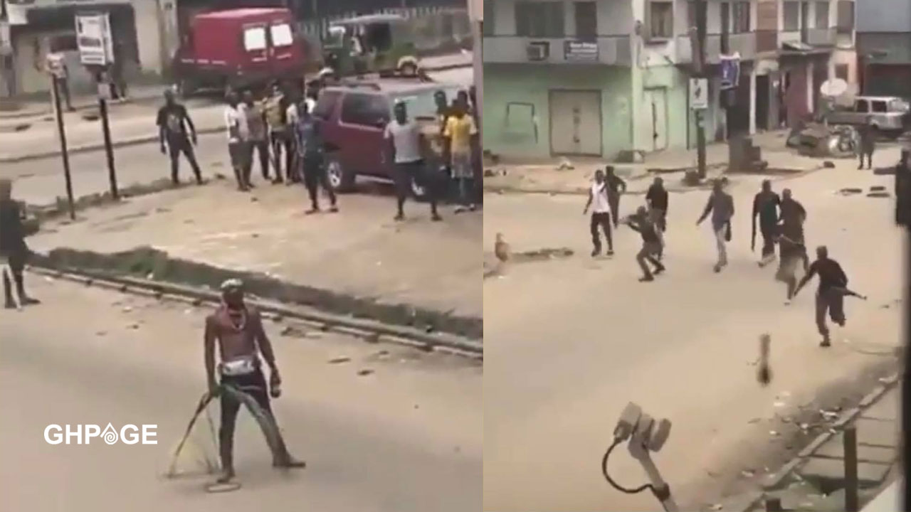 Bullets failed to enter the body of EndSARS protester despite police shooting him with AK47