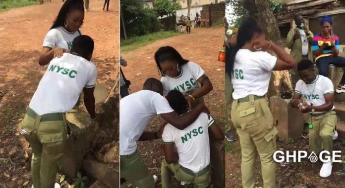 Nigerian guy pranks girlfriend before proposal
