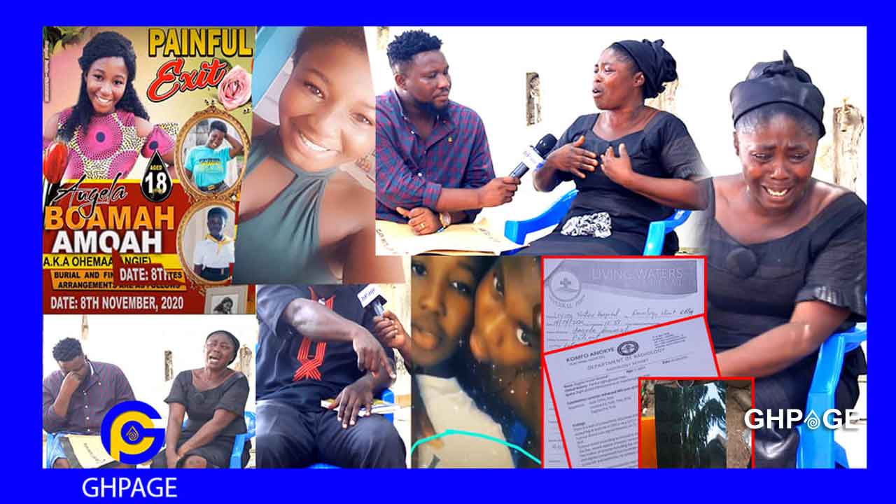 Cancer killed our daughter-Parents of 18yrs old Angela Boamah speaks